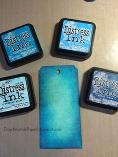 Daydreams In Paper: Distress Ink Blends - No. 1