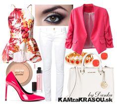 Žiarivá ružovo-červená - KAMzaKRÁSOU.sk #kamzakrasou #sexi #love #jeans #clothes #coat #shoes #fashion #style #outfit #heels #bags #treasure #blouses #dress