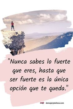 Life Quotes Love, Pretty Quotes, True Quotes, Words Quotes, Positive Phrases, Motivational Phrases, Spanish Inspirational Quotes, Spanish Quotes, Postive Quotes