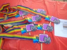 A Nyan Cat Birthday Party, Or How You Too Can Give In To Your Geekling's Party Ideas