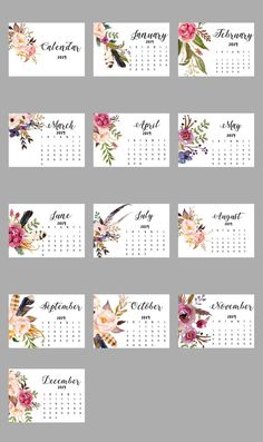 Wonderful Photographs wall calendar printables Suggestions The modern twelve months will be coming while oahu is the ideal period to create innovative answers and target. Calendar 2019 Printable, Desktop Calendar, Diy Calendar, Print Calendar, Calendar Design, Desk Calendars, Printable Planner, Planner Stickers, Free Printables