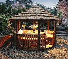 Inspiring Park Garden Gazebo for Your Home. Park Garden gazebo is a courtyard decoration or home yard which is often a favorite choice to complete the house garden.