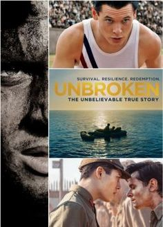 Unbroken | DVD | Olympian and war hero Louis Zamperini survived in a raft for 47 days after a near-fatal plane crash in WWII, only to be caught by the Japanese Navy and sent to a prisoner-of-war camp.