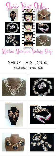 """Show Your Style...."" by martinimermaid ❤ liked on Polyvore featuring Anja, Goldette, J.Crew and vintage"