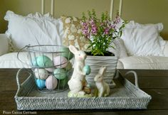 Fern Creek Cottage: My Easter Living Room
