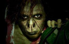Lizard girl prosthetics makeup special effects facepainting
