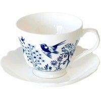 Louise Wilkinson Trees Teacup & Saucer