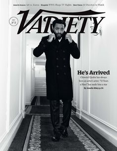 Chiwetel for Variety Mag. #sobomb