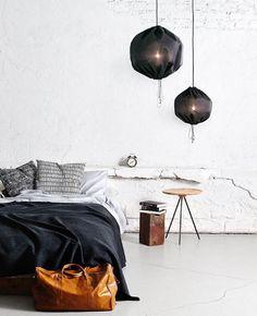 decoration chambre - black & white