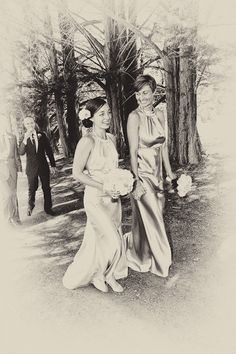 Belle and matron of honour