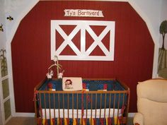 Picture of Barnyard Themed Nursery
