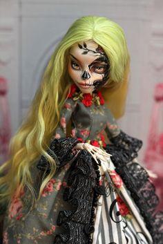 OOAK Monster High Skelita Calaveras