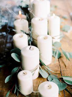 Schöne Kerzenideen für die Hochzeit Foto: Hanke Arkenbout Photography
