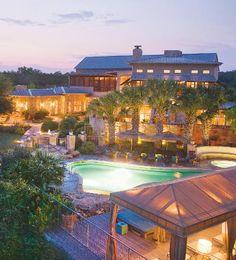 What if we stayed at Lake Austin Spa resort just to get away?