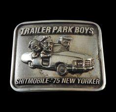 Pewter Shitmobile Belt Buckle - Trailer Park Boys - Inc Ship/Instock #Handmade…