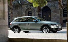 Audi A4 Allroad Estate Car: Roof rails
