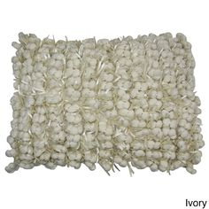 Accents Design Accentes Home Indoor Hand Woven Poly Nubs Funberry Pillow - 14 x 20 inches