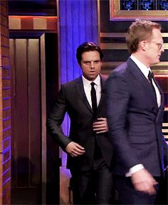Seb, babe, whatcha doin'? Also, Paul being clueless
