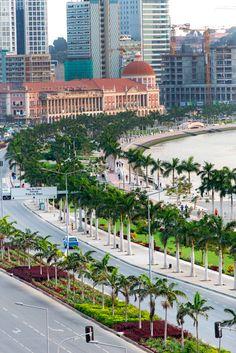 Bay of Luanda Waterfront . Angola.