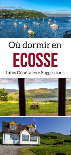 Ecosse Voyage - Conseils et suggestions pour choisir où dormir en Ecosse : hotels, B&Bs, Camping... | Ecosse Hotels
