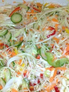 Healthy Salads, Healthy Eating, Healthy Recipes, Canning Recipes, Salad Recipes, Czech Recipes, Good Food, Yummy Food, Food To Make