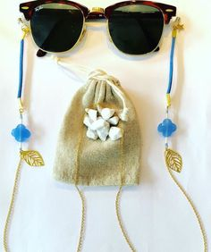 Beaded Jewelry Designs, Diy Jewelry, Sunnies, Sunglasses, Beaded Lanyards, Eyeglass Holder, Eye Glasses, Tassel Necklace, Eyewear