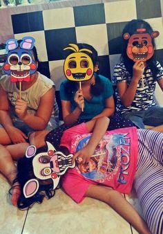 FNaF birthday party.