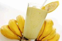 Today we will make Banana Smoothie recipe.How to Make Banana Smoothie step by step recipe. Watch my Banana Smoothie recipe video. Fruit Smoothies, Juice Smoothie, Smoothie Drinks, Healthy Smoothies, Healthy Drinks, Healthy Snacks, Healthy Eating, Healthy Recipes, Juice 3