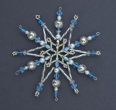 Snowflakes  Ledová korálková hvězda