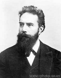 Wilhelm Roentgen (1845-1923), German physicist and discoverer of X-rays.