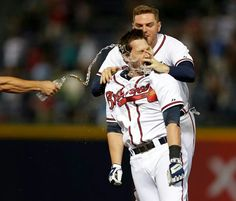 Atlanta Braves Win With a Walk Off Single from Chris Johnson.....8-28-13