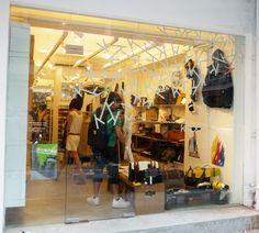 Seventy Eight Percent's #bags in #kapok, Hong Kong