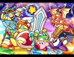 Kirby's Return To Dreamland <--- A.K.A. My favorite Kirby game.
