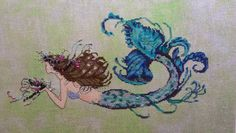 Stitching Under The Sea: Mermaid Undine is Finished!