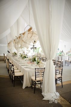 Real Wedding: Afton + Marc by Sposa Bella Photography | Southern Charm | reception decor