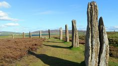 Ring of Brodgar near Stromness on Orkney. Uploaded from Flickr, Creative Commons on August 7 2015.