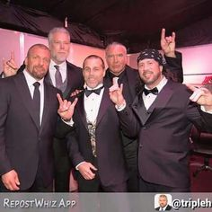 Triple H, Kevin Nash,  Shawn Michael, Scott Hall,X-Pac 2015 Hall Of Fame