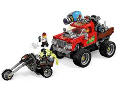 El Fuego's Stunt Truck 70421   Hidden Side   Buy online at the Official LEGO® Shop CA Monster Truck Toys, Toy Trucks, Shop Lego, Buy Lego, Ghost Hunting Games, Harry Potter Hagrid, Quad, Lego Mini, 3 Wheel Motorcycle