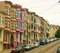 San Francisco, Russian Hill. San Francisco Girls, Living In San Francisco, San Francisco City, Russian Hill San Francisco, Places In California, Northern California, Best Cities, Adventure Awaits, Golden Gate