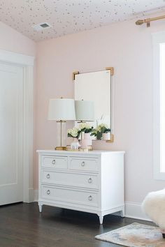 Blush Paint Color Wild Aster by Benjamin Moore Girls Bedroom Decor Pink Bedrooms, Light Pink Bedrooms, Pink Room, Bedroom Design, Home Decor, Girl Room, Pink Bedroom Decor, Room Decor, Room Colors