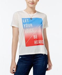 let your voice be heard shirt @ macy's