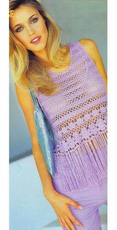 Thalia, Crochet Tank Tops, Picasa Web Albums, Crop Tops, Women, Archive, Fashion, Tejidos, Clothes