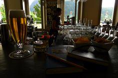 0205: OrS06 8/12. Pontresina, Switzerland, km 105'469, Sport Bar, 23 June 2011, 18:51 (local time): Alpwhisk, Swiss Single Chesnut and Beer