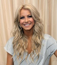 Julianne Hough hair style - long wavy layers