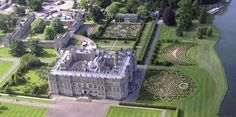 Longleat House - Longleat is an English Elizabethan stately home and the seat of the Marquesses of Bath. It is adjacent to the village of Horningsham and near the towns of Warminster in Wiltshire and Frome in Somerset