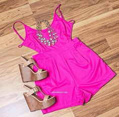 I need this romper! Hot pink. Soo cute.  Get 10% off your order through this link:  http://www.modernego.com/?r=8189