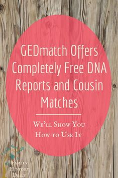 Gedmatch offers free DNA reports and cousin matches when you upload your genealogy DNA test results to this free genealogy site. Learn about your genetic ancestry and expand your family tree for free. Free Genealogy Sites, Ancestry Dna, Genealogy Research, Family Genealogy, Dna Research, Dna Kit, Family Tree Research, Dna Results, My Family History