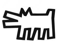 THE DOG - Keith Haring