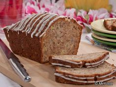 Hawaiian Pineapple Banana Bread | mrfood.com