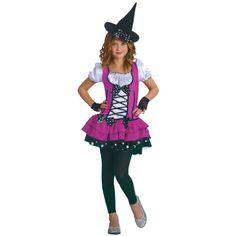 Sugar N Spice Witch Girls Halloween Costume